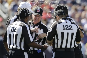 NFL Refs Call Outs