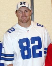 Cowboys TE, Jason Witten